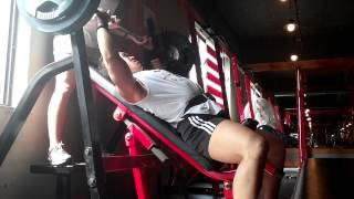 incline bench press 120kg