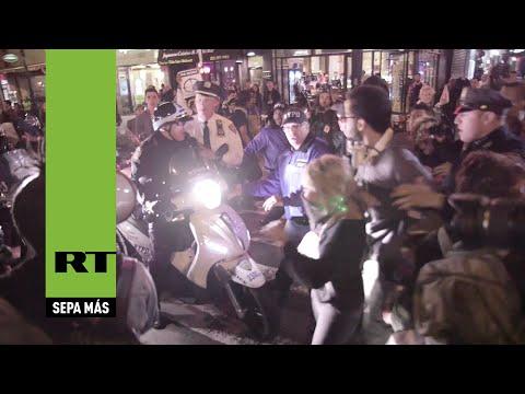 Se intensifican las protestas en Nueva York tras el veredicto del gran jurado