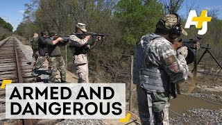 Armed and Vigilant: In Fear of a Muslim Uprising in Texas | AJ+ Docs