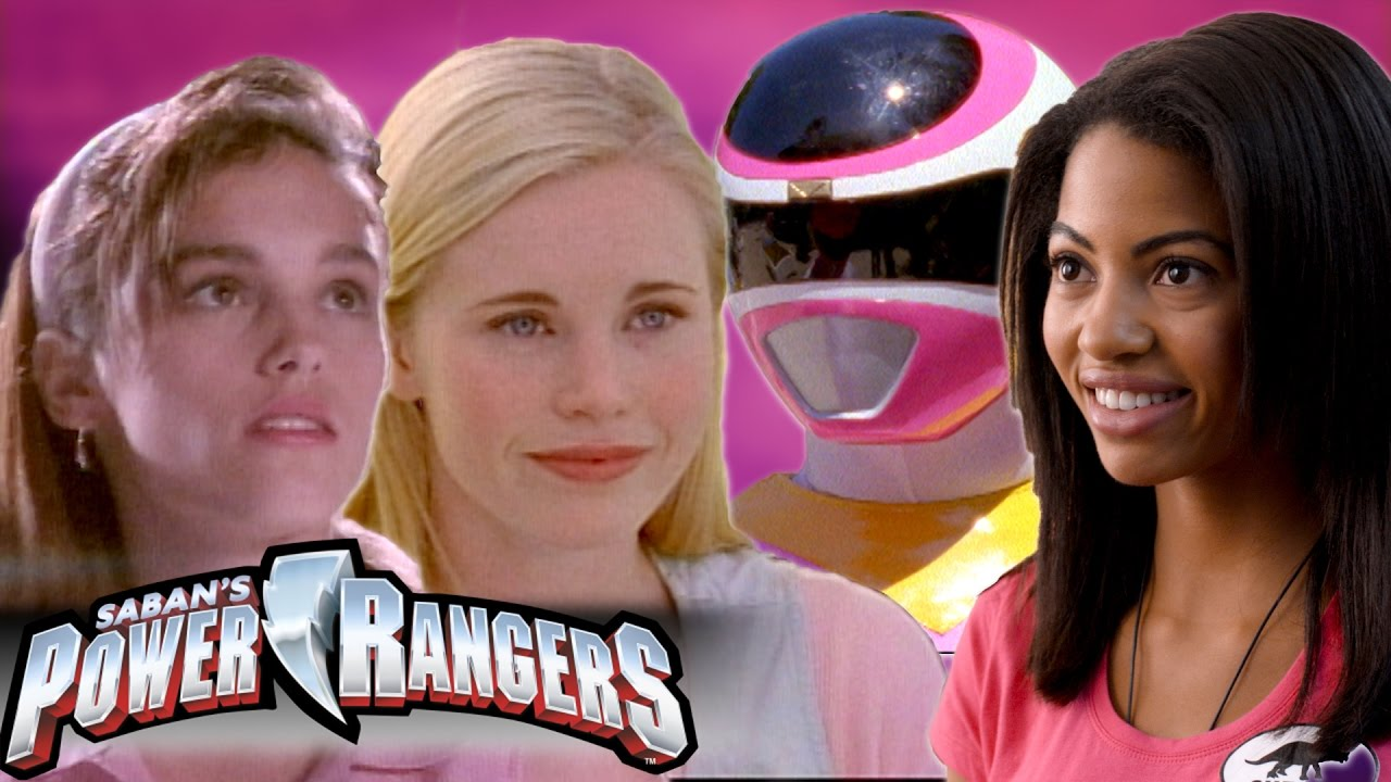 Who was the pink power ranger dating