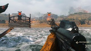 COD WW2 WAR GAMEPLAY - D-DAY MISSION (Multiplayer Gameplay)