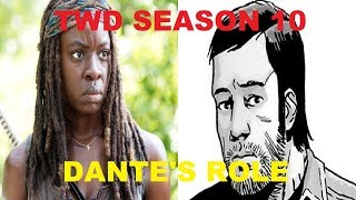 The Walking Dead S10 NEWS and Freestyle Topics - Dante Announced