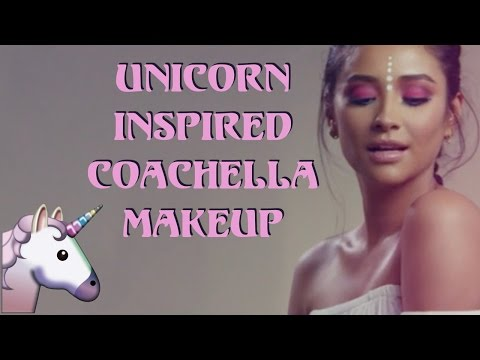Unicorn Inspired Coachella Makeup Tutorial | Shay Mitchell