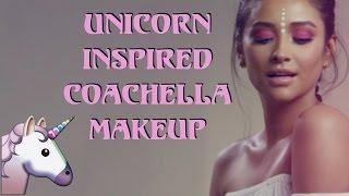 Unicorn Inspired Coachella Makeup Tutorial | Shay Mitchell