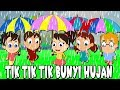 Download Lagu Tik Tik Tik The Sound of the Rain  Indonesian Kids Songs  Compilation 22 minutes