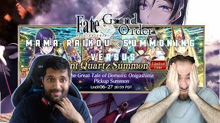 """Fate Grand Order: Onigashima Event Summoning Versus """"Mama Come Home to Me!"""""""