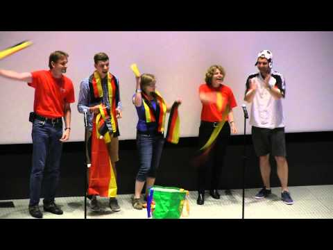 Germany - 2014 International Space Camp Opening Ceremony