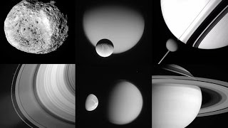 11 Years of Cassini Saturn Photos in 3 hrs 48 min