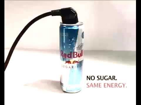 Red Bull Energy Drink Sugar Free Commercial - www.expressbebidas.com.br
