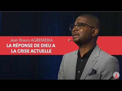 Jean-Bosco AGBEMEBIA: La réponse de Dieu à la crise actuelle.