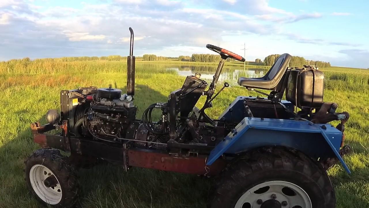Газ 66 на самодельный трактор 23