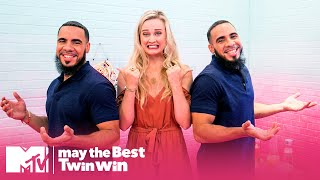 This Three-Way Date Gets Weird REAL Fast | May the Best Twin Win | MTV