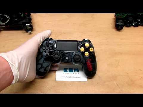 Ps4 Controller Buttons Camo Custom Ps4 Controller