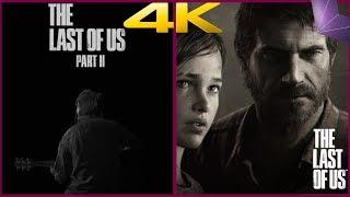 The Last of Us Part II vs The Last of Us 4K Comparison | PS4 PRO | 4K60