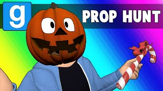 Gmod Prop Hunt Funny Moments - Christmas or Halloween 2018? (Garry