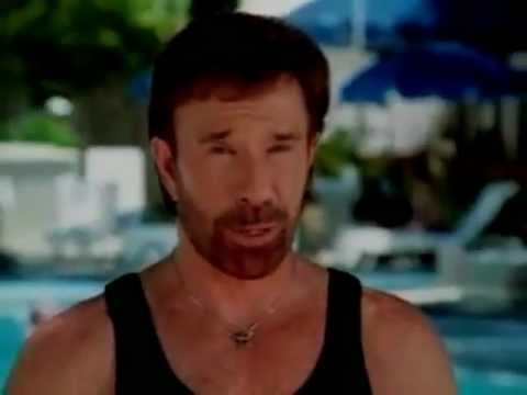 Chuck Norris and Christie Brinkley  - Total Gym #4