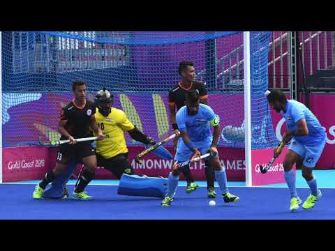 India 2 Malaysia 1  Mens Hockey. Commonwealth Games Australia 2018