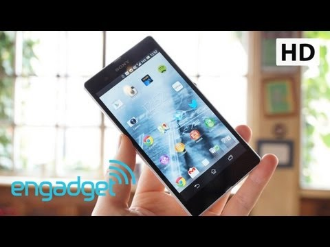 Sony Xperia Z Review   Engadget