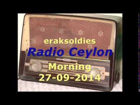 Radio Ceylon 27-09-2014~Saturday Morning~04 Film Sangeet