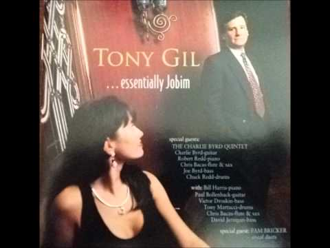 Tony Gil sings One Note Samba with Pam Bricker and Charlie Byrd on guitar from Essentially Jobim CD