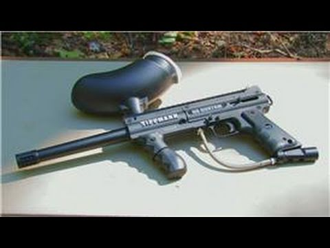 Paintball Tips : How to Take a Paintball Gun Apart