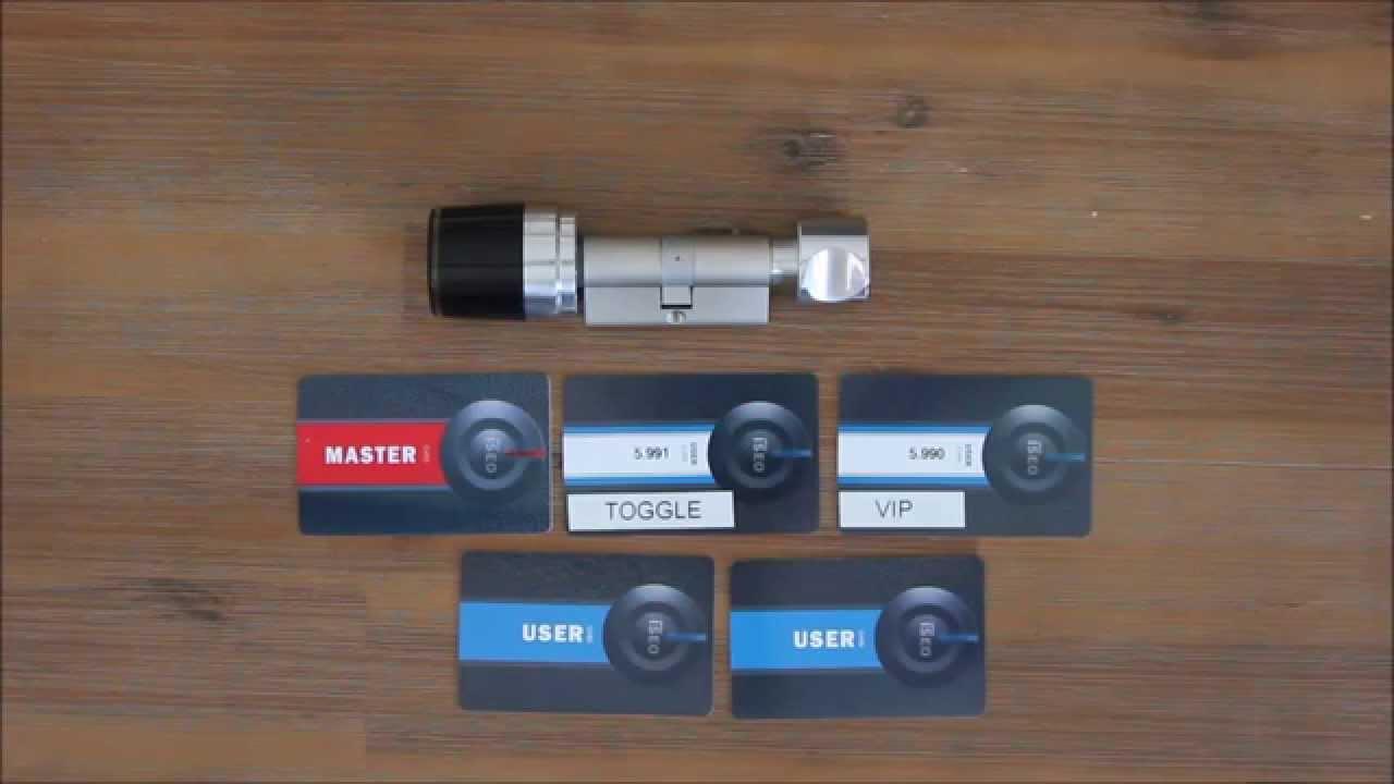 elektronischer schlie zylinder libra mastercard youtube. Black Bedroom Furniture Sets. Home Design Ideas