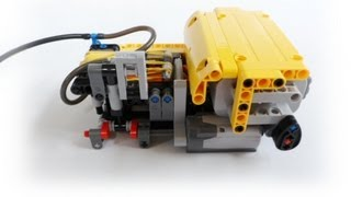 Lego Technic automatic compressor(I)