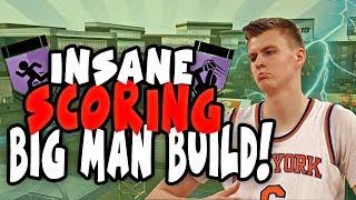 THE PERFECT SCORING NBA 2K19 CENTER BUILD! BEST BUILD 2K19 HAS FOR SHOOTING BIG MEN!