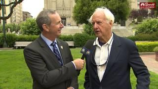 Matt Maiocco Interviews George Seifert After Dwight Clark Memorial