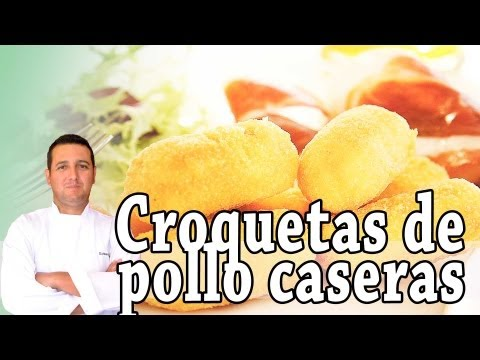 Croquetas de pollo caseras - Recetas de cocina