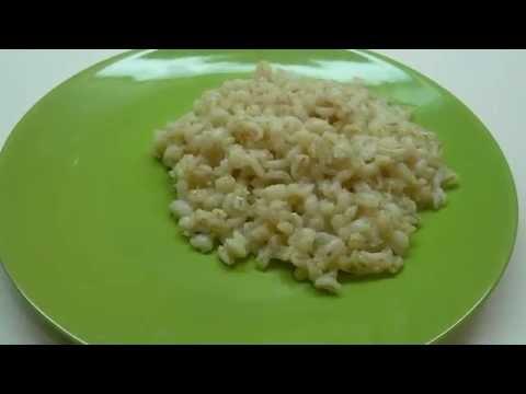 Как приготовить вкусную перловую кашу - видео