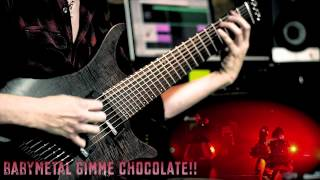 BABYMETAL Gimme Chocolate!! guitar cover