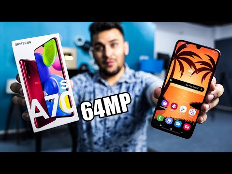 Samsung Galaxy A70s Unboxing Camera amp Design Phone!