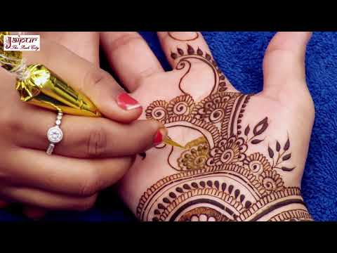 Mehndi Design for Beginners | Easy Mehndi Design For Hands by Sonia Goyal #043