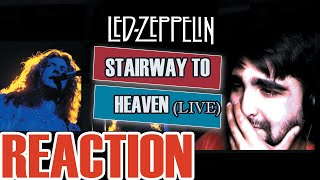 LED ZEPPELIN - STAIRWAY TO HEAVEN (LIVE) | REACTION!