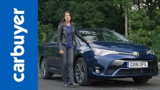 Toyota Avensis Touring Sports estate review - Carbuyer