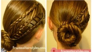 Arrow Braid Hairstyle, hair4myprincess