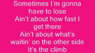 Watch Hannah Montana The Climb video