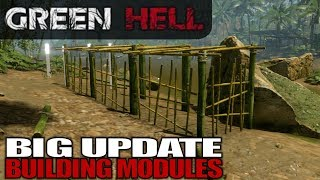 BIG UPDATE BUILDING MODULES | Green Hell | Let's Play Gameplay | S01E26