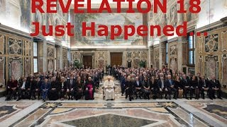 Prophecy Fulfillment   REVELATION 18 IS HAPPENING