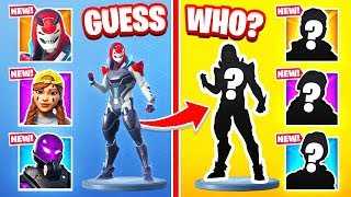 RANDOM Skin GUESS WHO *NEW* Game Mode in Fortnite Battle Royale