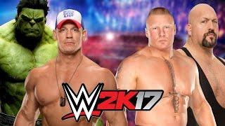 Download Hulk and John Cena vs Brock Lesnar and Big Show 3Gp Mp4
