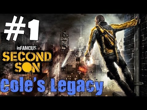 inFamous: Second Son Cole's Legacy Walkthrough Part 1 Gameplay Let's Play Playthrough DLC 1080p HD
