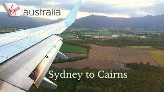 FULL FLIGHT: Virgin Australia Boeing 737-800 | Sydney to Cairns (1080p)