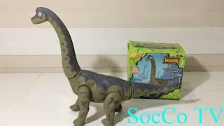 Mở hộp đồ chơi khủng long cổ dài đẻ trứng - Đồ chơi dành cho trẻ em mới nhất 2018