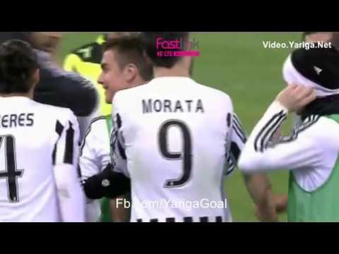 Lazio 0 - 1 Juventus Stephan Lichtsteiner 20/1/2016