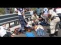Fuerte accidente en la carretera Tuxtla-Ciudad de México