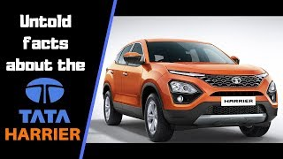 Untold facts about TATA HARRIER : lesser known facts | TATA HARREIR