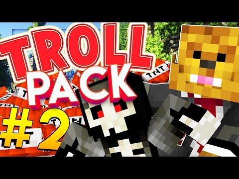 Minecraft TROLL PACK - GHOST MORPH PRANK! #2