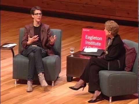 Rachel Maddow at Eagleton Institute of Politics (Rutgers University)
